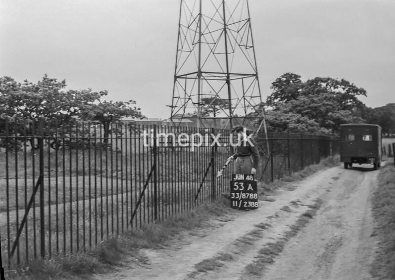 SJ878853A, Ordnance Survey Revision Point photograph of Greater Manchester