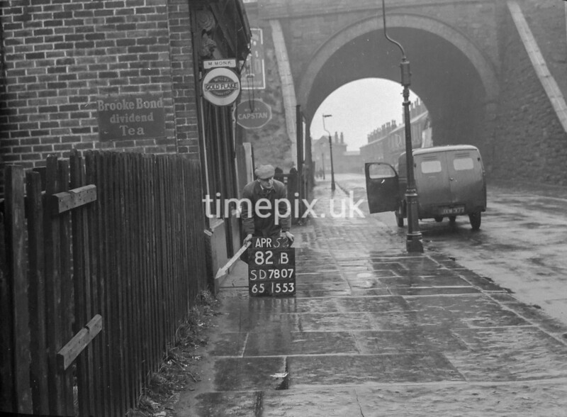 SD780782B, Ordnance Survey Revision Point photograph in Greater Manchester
