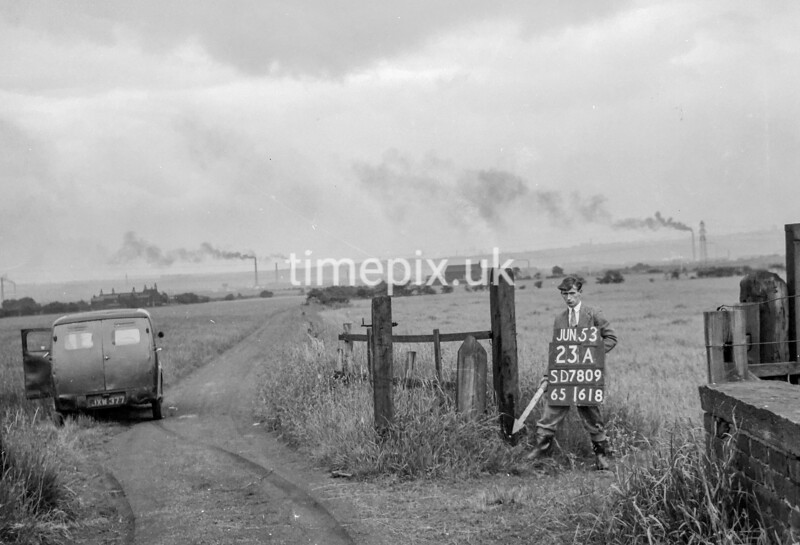 SD780923A, Ordnance Survey Revision Point photograph in Greater Manchester