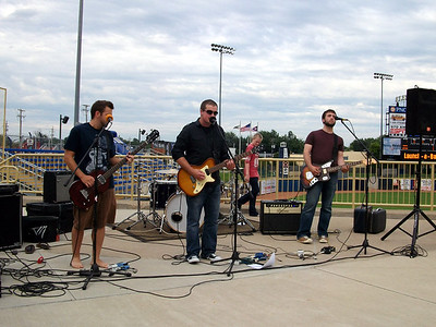Northpoint Worship Band playing before the game.