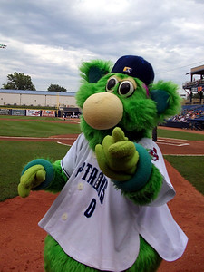 SKIPPER!!!  The Lake County Captains adorable mascot