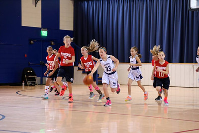 LITTLE DRIBBLERS | 3rd/4th Grade Girls | Game #1 @ Our Lady of Grace