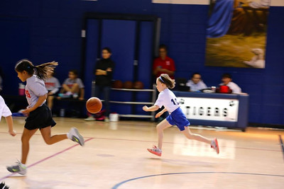 LITTLE DRIBBLERS | 1st/2nd Grade Girls | Game #1 @ Our Lady of Grace
