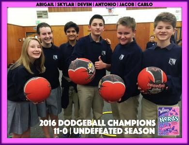 2016 DODGEBALL | 7th/8th Grade