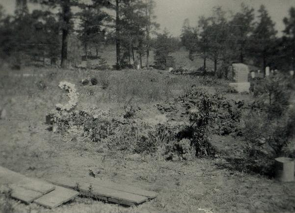 CM Smith's grave after dying at age 59 with the flu.  Hill Top Cemetry Pagosa Springs Colorado.