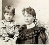 "Does this look like us"" Esther and her mother, Jennie - in Kansas"