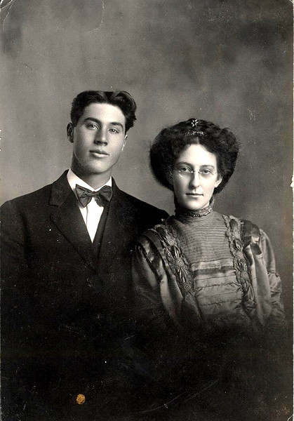 Will & Ethel Carpenter, 1st dau of Jennie.