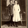 Ed & Edith VanSickle,Jennie's first children, half-brother and sister to Esther Smith-Amyx.  In the 1800s, husbands had rights to keep children from wives when they divorced - as was the case with Jennie when she left Mr. VanSickle.