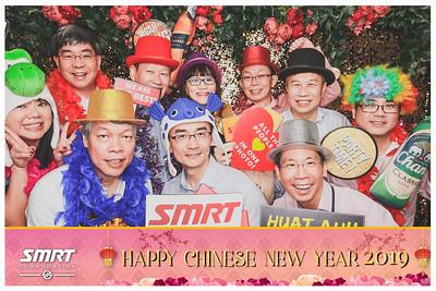 SMRT CNY 2019 | © www.SRSLYPhotobooth.sg