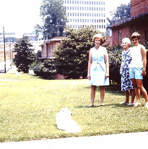 1969, Lil, her Mom & Grandmother in Atlanta