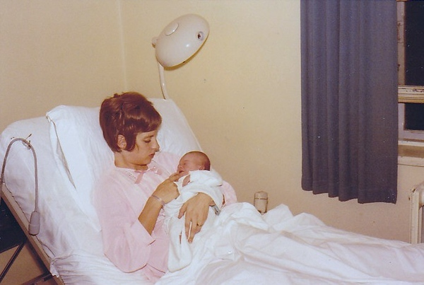 October 1970, Our family is complete, Lillian with Karen