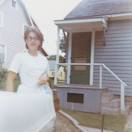 1967, our Mattydale apt. on E. Malloy Rd.