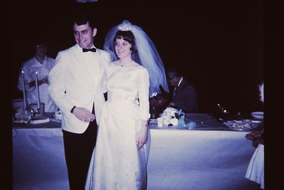 1967 Marriage reception