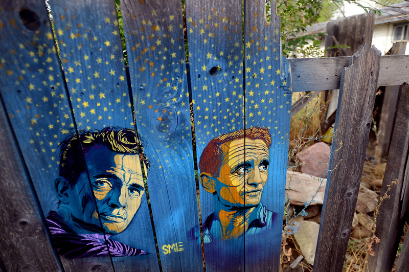 SMiLE Boulder Mysterious Street Artist Treads Line Between - People cant decide if theyre ok with this street artists ironic messages