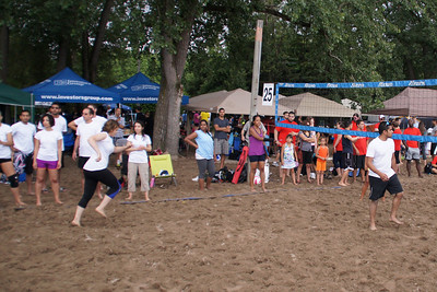 Corporate Volleyball Tournament Toronto Heatwave 2012