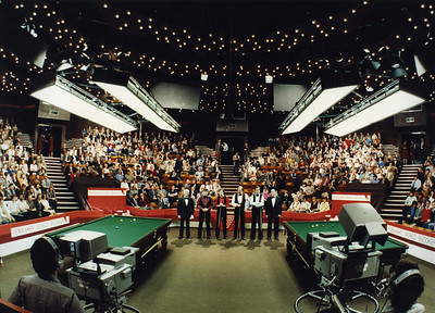 Embassy World Snooker at The Crucible Theatre,Sheffield,1980's....many more pictures available.