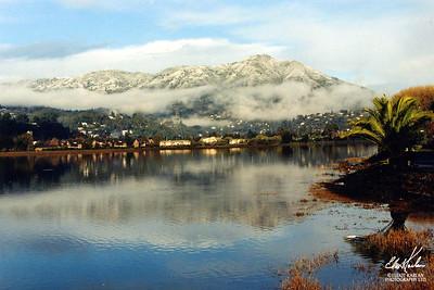 MOUNT TAM SNOW PRINT