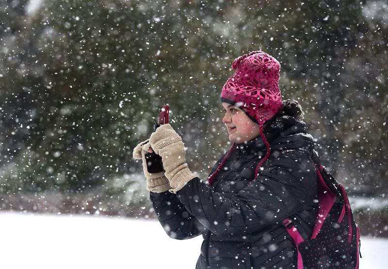 SNOW MONDAY OCT 9