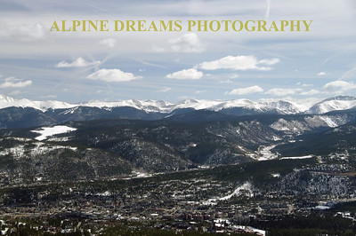BRECKENRIDGE FROM UP TOP