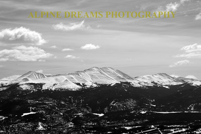 SCENES FROM BRECK IN B & W
