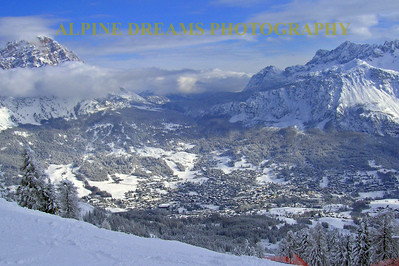 Another view of Cortina from the top.