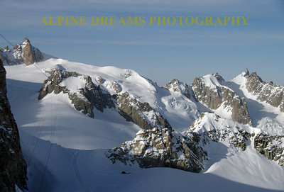 Check out the tent of those brave souls that are camping at the top of Europe. Talk about getting away from it all.