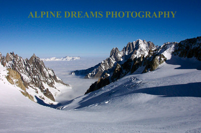 Although I shot this particular frame it feels like yesterday when I skied the Vallee Blanche from Italy to France