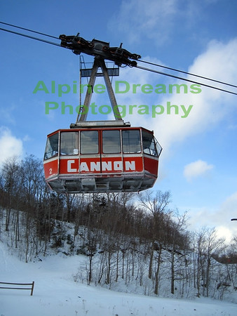 TRAM AT CANNON MOUNTAIN