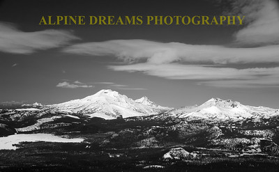 Called SCENES FROM BACHELOR IN BLACK AND WHITE   ---   When I got a load of this with my wide angle lens and those clouds rolled in for contrast it was a no-brainer.  tell me this area is not Beautiful.!!!