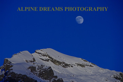 The moon and the mountain. Another version of a picture on page 1 of this gallery.