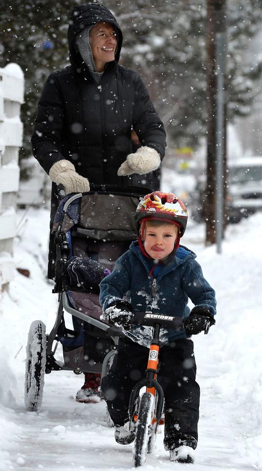 SNOWY BOULDER FEB 1