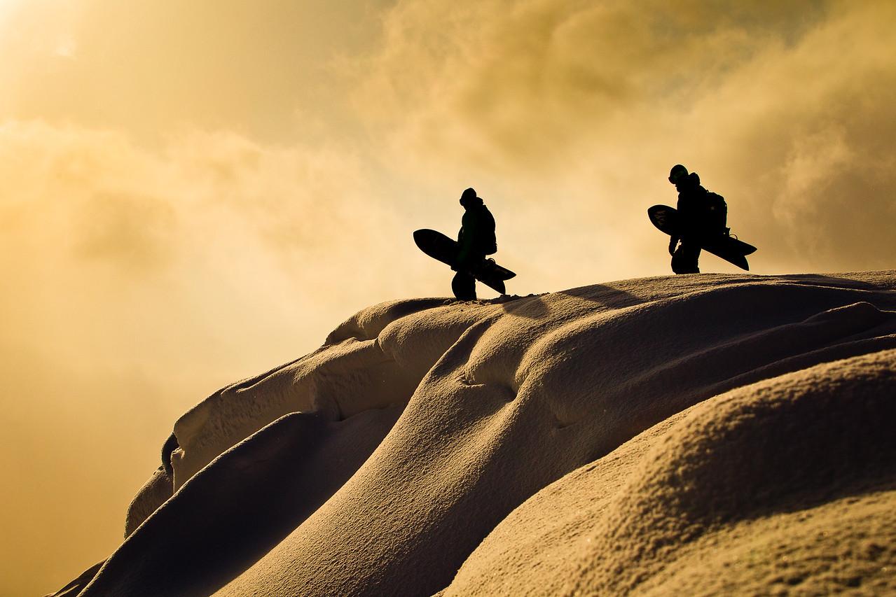 Forrest Shearer & Chris Christenson - Niseko, Japan.