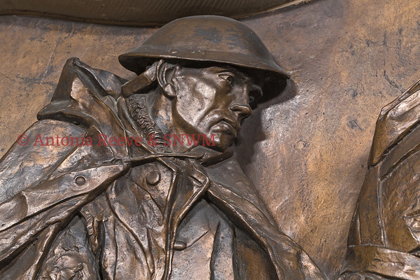 Nursing Services Memorial, Bronze Sculpture - Detail