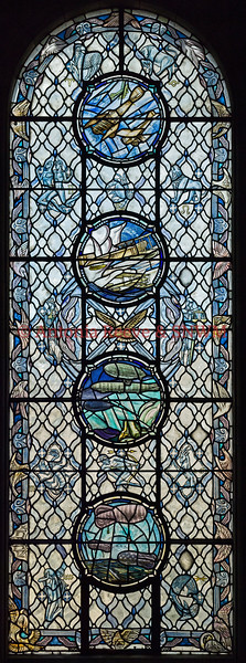 SNWM  Stained Glass Window, Flying Services