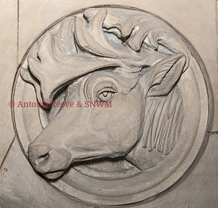 Stone Carving - Moose or Elk