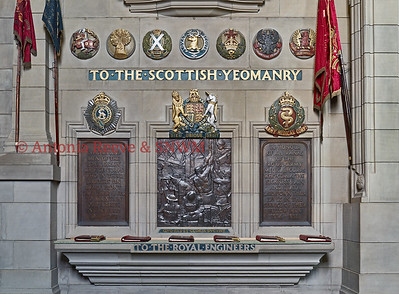 Royal Engineers, Army Service Corps, Army Medical Corps, memorials