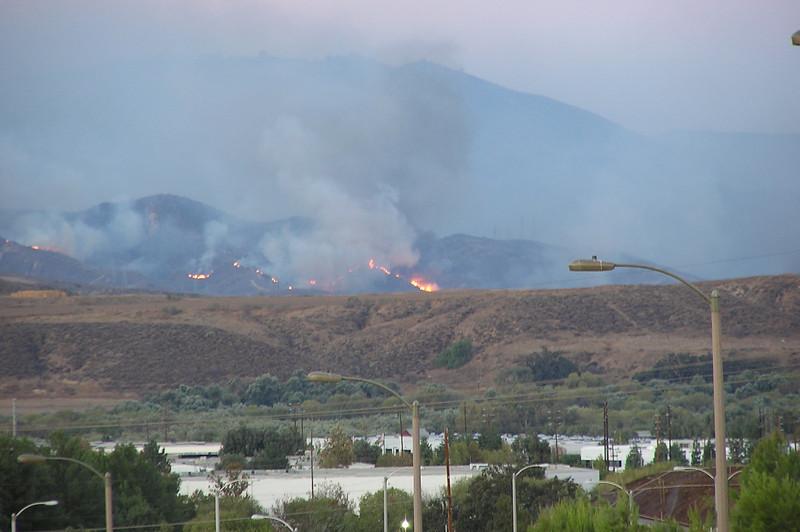 Taken from Copper Hill Rd. & Decoro area towards Magic Mountain.