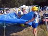setting up camp at Ducks ranch