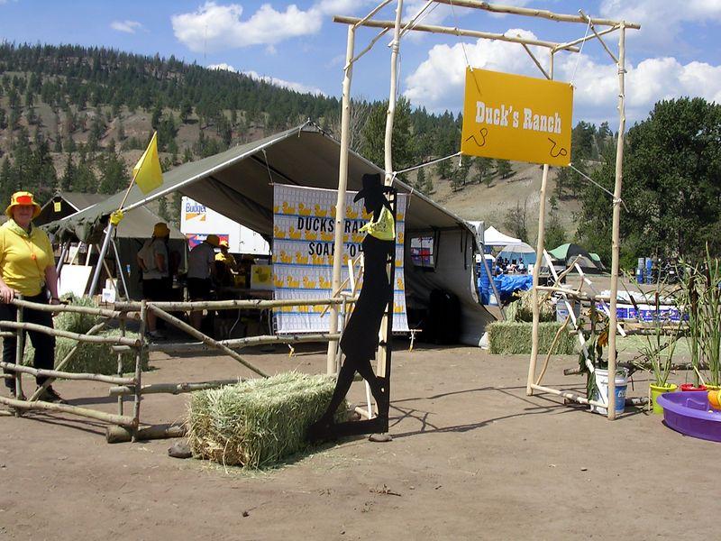 setting up Ducks Ranch Headquarters