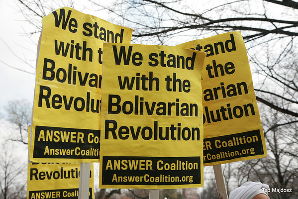 SOLIDARITY WITH THE BOLIVARIAN REVOLUTION OF VENEZUELA 2/19/14