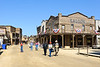 Cowboy Festival at Melody Ranch, Santa Clarita 4/22/12   Headed for the Saloon first thing.....