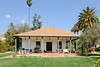 Rancho Camulos.  .  The school house built in the 20s I believe.  It is not adobe  like the rest of the buildings.