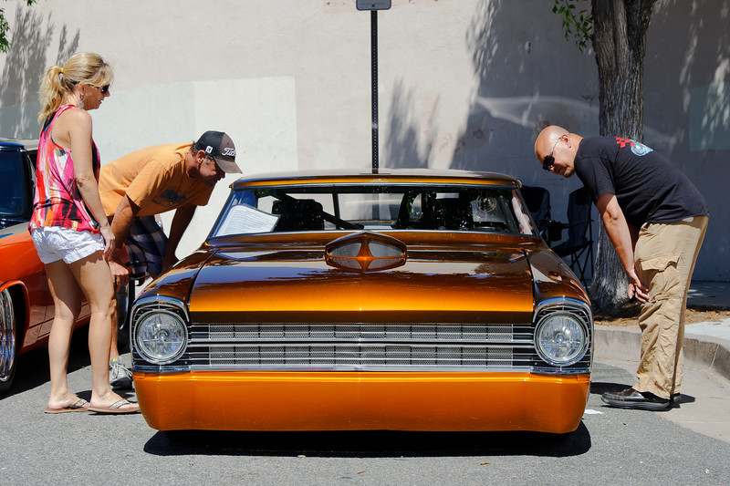 6/24/12   Main St. Newhall car show.  This one be low...  and fast.