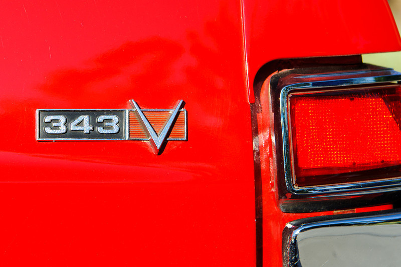 Rt. 66 Grill, Santa Clarita, car show sponsored by the GTO Club.    Vintage AMX.  1969?