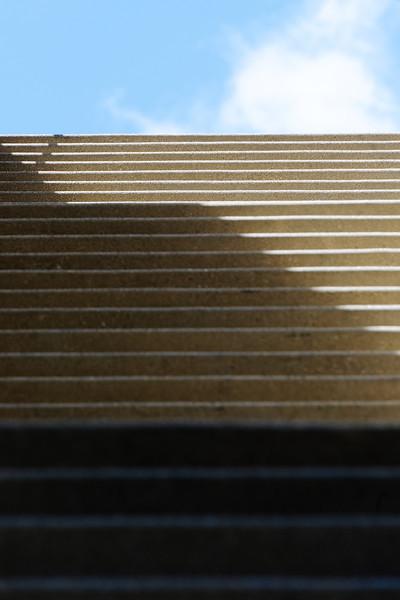 Century City Tower stairs to......