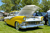 SCV Charity Blues Fest 6/2/12  . A good lookin' '56 with a 5.0 Cobra engine.