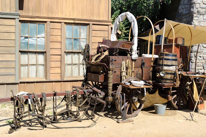 Cowboy Festival at Melody Ranch, Santa Clarita 4/22/12   Chuck Wagon Charlie.