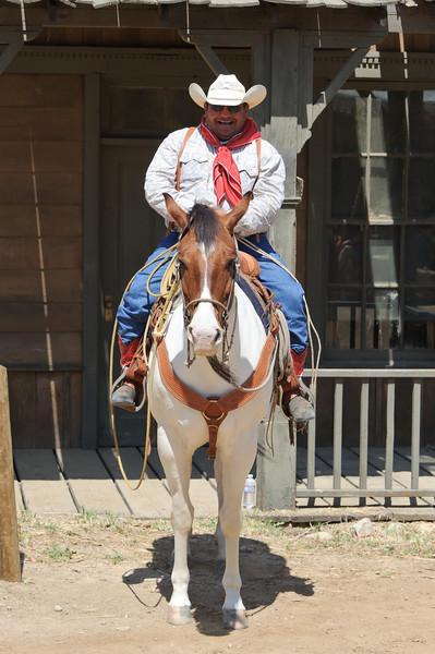 Cowboy Festival at Melody Ranch, Santa Clarita 4/22/12  Cowboy.