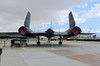 SR71 from the backside @ BLACKBIRD AIR PARK, EDWARDS AFB FLIGHT TEST MUSEUM.