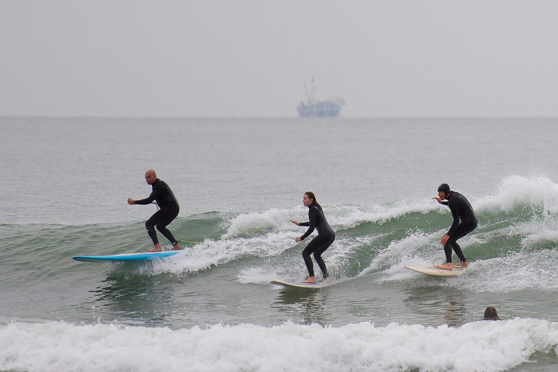 2012 Ventura Christmas day.  Surfers Point.